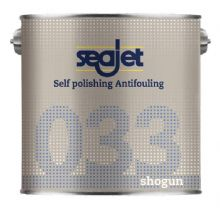 Seajet 033 Shogun Self Polishing Antifouling Paint - 2.5 Litres